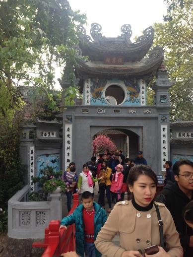 Hanoi - Hoan Kiem Gölü / Ngoc Son Tapınağı