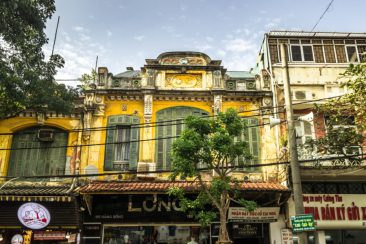 Magnificent shophouse in the Old Quarter of Hanoi