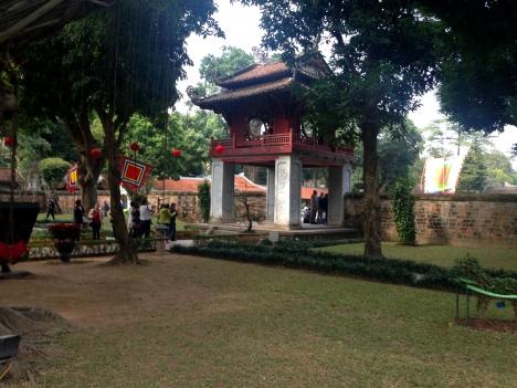 Hanoi – Literatür Tapınağı / Khue Van Cac pavilyonu